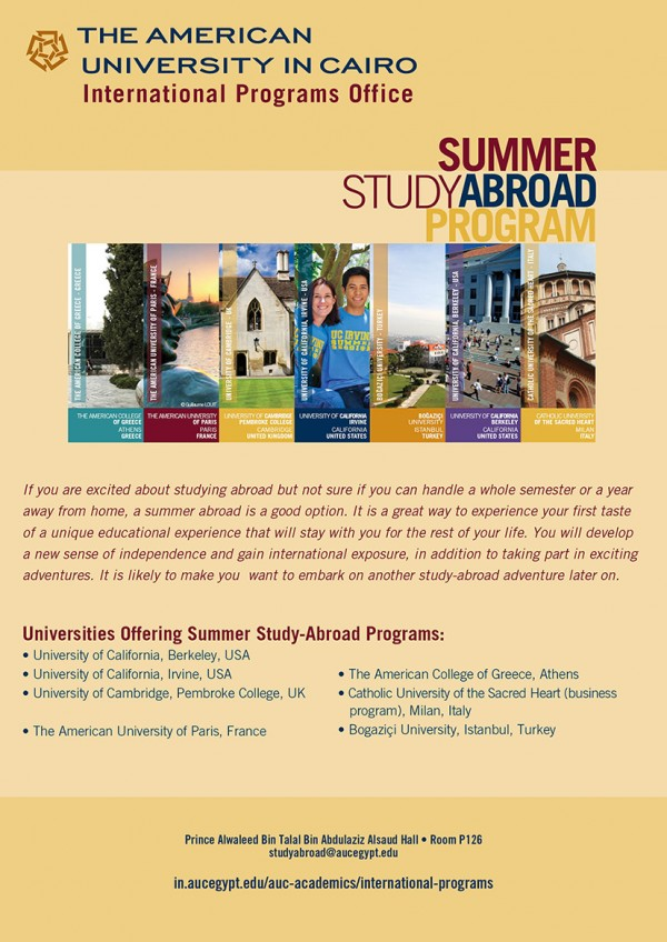 Ad: International Programs Office launches Summer Study